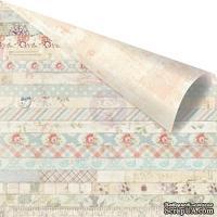 Лист двусторонней скрапбумаги от Prima - Delight Paper-Decorative
