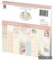 Набор бумаги от Prima - Delight- 6 x 6 Paper Pad