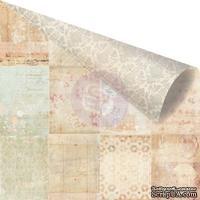 Лист двусторонней скрапбумаги от Prima - Princess - Mia, 30х30см, 1 шт.