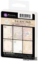 Набор карточек от Prima - Princess -  ATC Pad