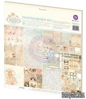Набор бумаги и элементов для скрабукинга от Prima - коллекция Princess, 30 х 30 см