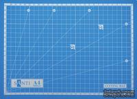 Коврик самовосстанавливающийся для резки А4, 30х22 см, ТМ Santi