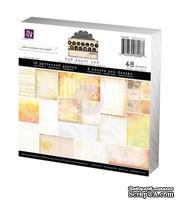 Набор бумаги от Prima - 6x6 Paper Pad - Sunrise Sunset, размер: 15x15см, 48 листов