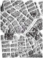 ЦЕНА СНИЖЕНА! Штамп силиконовый фоновый от Prima - Map