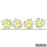 ЦЕНА СНИЖЕНА! Бумажный скотч Prima - #2 Floral