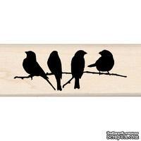 Резиновый штамп от Inkadinkado - Branchful of Birds
