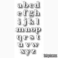 Набор ножей от Memory Box - DIES- Classic Lower Alphabet Set