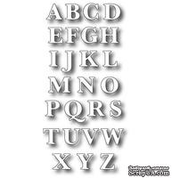 Лезвие - DIES- Classic Upper Alphabet, 26 шт. - ScrapUA.com