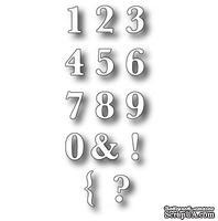 Лезвие - DIES- Classic Numbers, 14 шт.