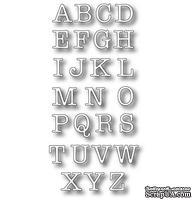 Лезвие - DIES- Typewriter Upper Alphabet, 24 шт.