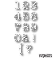 Лезвие - DIES- Tyepwriter Numbers, 14 шт.