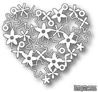 Лезвие от Memory Box -  DIES- Floral Heart