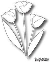 Лезвие от Memory Box -  DIES- Tulip Stems