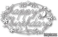 Лезвие от Memory Box -  DIES- Happy Birthday Tidings - ScrapUA.com