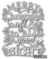 Ножи от  Memory Box  -  DIES- Merry Christmas to All