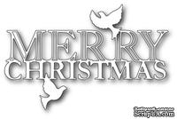 Ножи от  Memory Box  -  DIES- Peaceful Merry Christmas