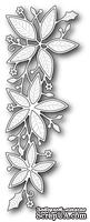 Нож для вырубки от Memory Box - Poinsettia Border