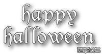 Нож для вырубки от Memory Box - Vintage Halloween Letters