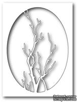 Нож от Memory Box - Graceful Branch Oval - Изящные ветви