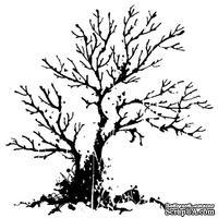 Акриловый штамп от Inkadinkado - Haunted tree