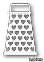 Нож от Memory Box - Grateful Hearts - Кухонная терка с сердечками