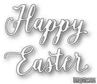 "Нож от Memory Box - Happy Easter Journal Script - Надпись ""Happy Easter"""