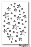 Нож от Memory Box - Shimmer Star Collage - Мерцание звезд