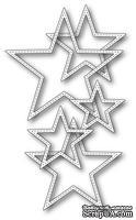 Ножи от Memory Box — Stitched Stars craft die