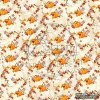 Лист скрапбумаги от ScrapEgo - Тыквенное настроение  #9, 30,5х30,5см