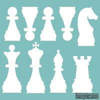 Чипборд от Вензелик - Шахматы 02, размер: 90*85 мм