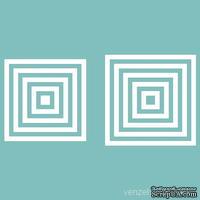Чипборд от Вензелик - Набор квадратиков, от 8 до 40 мм, размер: от 8 до 40 мм