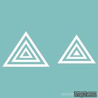 Чипборд от Вензелик - Набор треугольников, от 6 до 40 мм, размер: от 6 до 40 мм