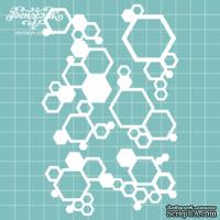 Чипборд от Вензелик - Геометрический набор 03, размер: 9,3 x 14,4 см