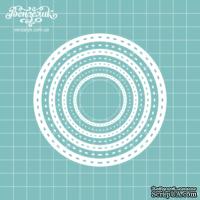 Чипборд от Вензелик - Набор кругов 02, размер: 10 x 10 см
