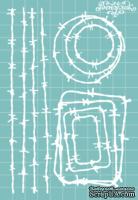 """Чипборд от Вензелик - Набор """" Колючки """" 05, размер: 99x149 мм"""