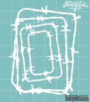 """Чипборд от Вензелик - Набор """" Колючки """" 03, размер: 63x80 мм"""