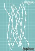 """Чипборд от Вензелик - Набор """" Колючки """" 07, размер: 78x151 мм"""