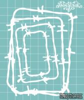 """Чипборд от Вензелик - Набор """" Колючки """" 10, размер: 95x120 мм"""