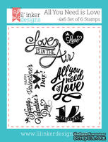 Штампы от Lil' Inker Designs - All You Need Is Love Stamps