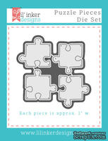 Ножи для вырубки от Lil' Inker Designs - Puzzle Pieces Die Set