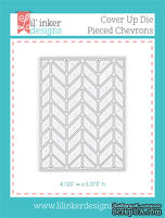 Нож для вырубки от Lil' Inker Designs - Cover Up Die - Pieced Chevrons