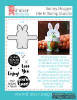 Ножи и штампы от Lil' Inker Designs - Bunny Hugger Die & Stamp Bundle