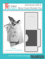 Нож для вырубки от Lil' Inker Designs - Stitched Gift & Note Card Holder Die