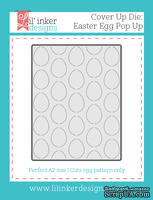 Нож для вырубки от Lil' Inker Designs - Cover Up Die: Easter Egg Pop Up