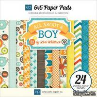 Набор бумаги от Echo Park - All About a Boy 6x6 Paper Pad, 15х15см