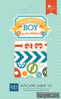 Набор бумажного скотча от Echo Park - All About a Boy Washi Tape
