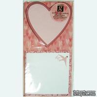 Самоклеющиеся заметки-валентинки от Studio G - Love, 1 шт.