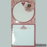 Самоклеющиеся заметки-валентинки от Studio G - From The Queen of Hearts, 1 шт.