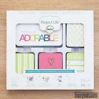 Набор карточек Project Life by Becky Higgins - Core Kit - Prismatic, 576 штук
