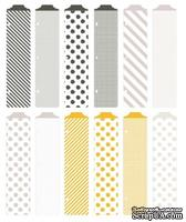 Разделители Project Life by Becky Higgins - Designer Dividers - Midnight Edition - ScrapUA.com
